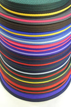 Load image into Gallery viewer, 20mm Polyester Air Webbing In Various Colours And Lengths Ideal For Dog Leads Collars Straps Bags Handles