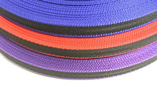 Load image into Gallery viewer, 20mm Webbing In Two-Tone Colours Various Lengths for Bags Straps and Leads