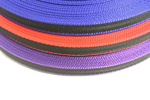 20mm Webbing In Two-Tone Colours Various Lengths for Bags Straps and Leads