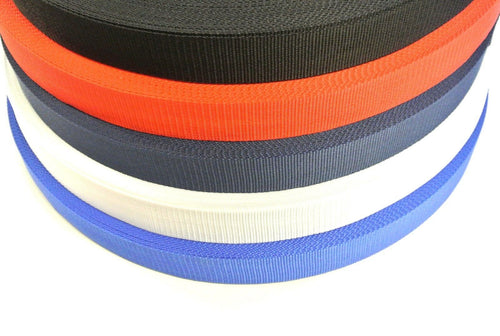 38/40mm Webbing in 5 Colours And Various Lengths