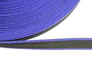 20mm Webbing In Black And Blue In Various Lengths