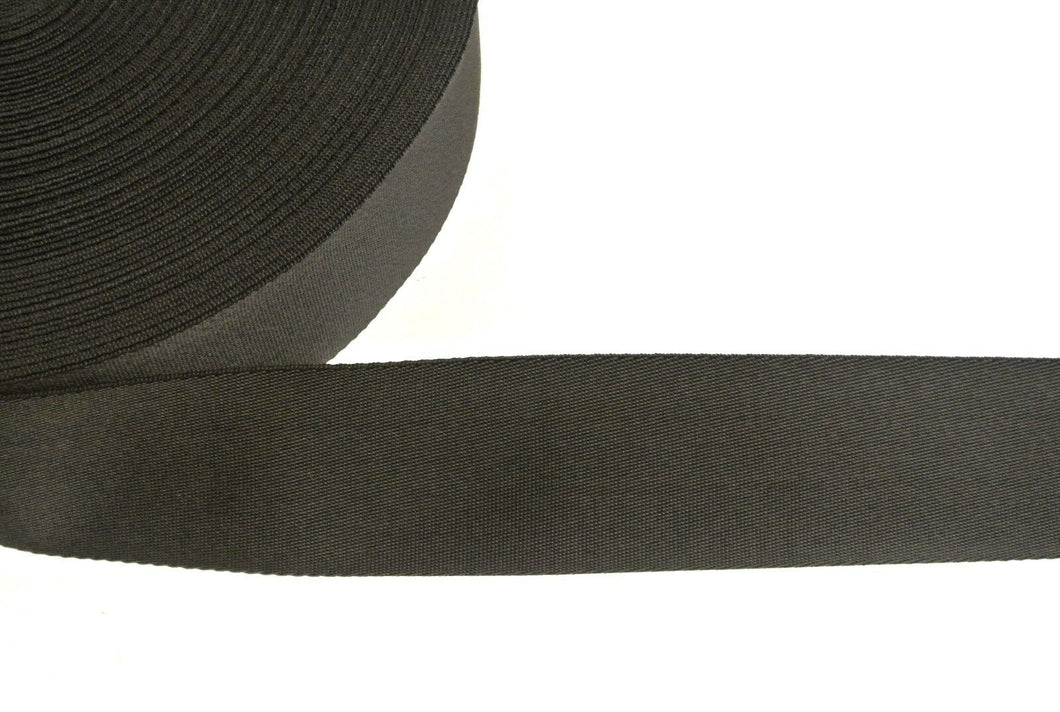 64mm Wide Webbing In Black And Various Lengths