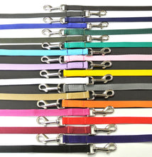 "Load image into Gallery viewer, 76"" Dog Walking Lead 20mm Webbing In Various Colours"