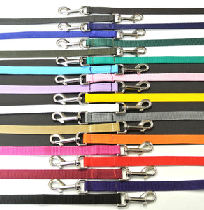 "76"" Dog Walking Lead 20mm Webbing In Various Colours"