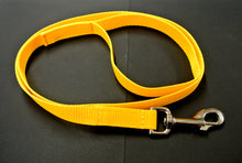 "Load image into Gallery viewer, 45"" Long Puppy Dog Walking Lead Leash 20mm Wide Strong Durable Webbing In 20 Colours"