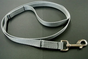 "45"" Long Puppy Dog Walking Lead Leash 20mm Wide Strong Durable Webbing In 20 Colours"
