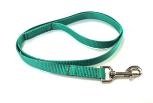 "45"" Short Dog Lead In Emerald Green"