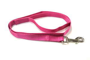 "45"" Short Dog Lead In Cerise"
