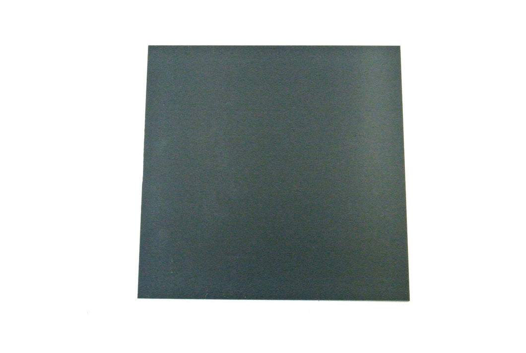 Grey PVC Flat Engineering Plastic Sheet 1.5mm, 2mm Thick Various Sizes And Lengths