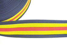 Load image into Gallery viewer, 76mm Wide Webbing In Multi Colour Various Lengths
