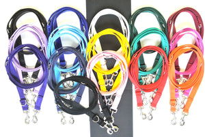 Police Style Dog Leads in various lengths and colours