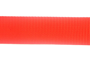 38/40mm Webbing In Red And Various Lengths