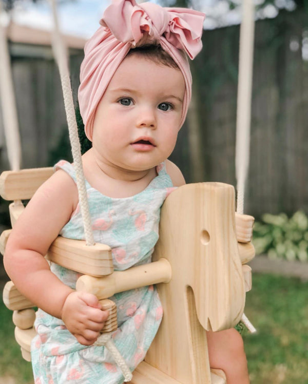 Wooden Baby & Toddler Swing - Horse