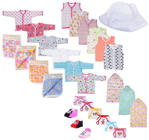 Fareto New Born Baby Gift Set Combo Pack Of 7 Items Which Are Most Usable Combo For Your Newborn (0-6Month)