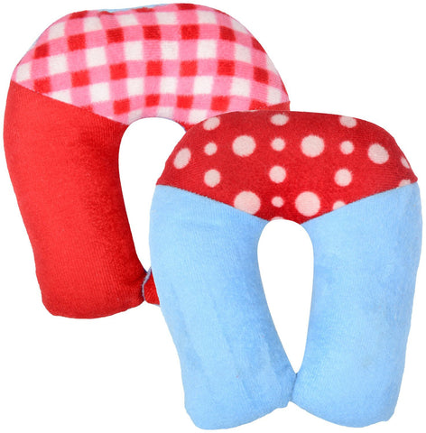 Fareto Baby U-Shape Pillow Pack Of 2(Multicolors)
