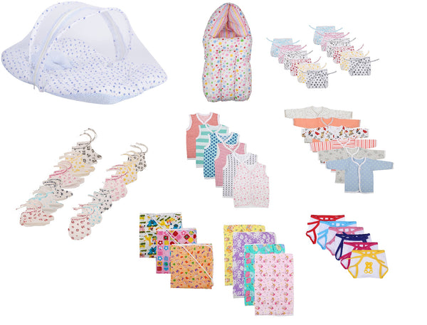 Fareto Baby Daily Needs Item In One Pack Combo Of 9 Items Which Are Most Usable In Daily Life Of Your Baby(Unisex)(0-6 Months)
