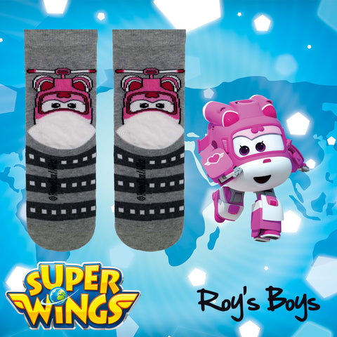 Dizzy Super Wings Socks