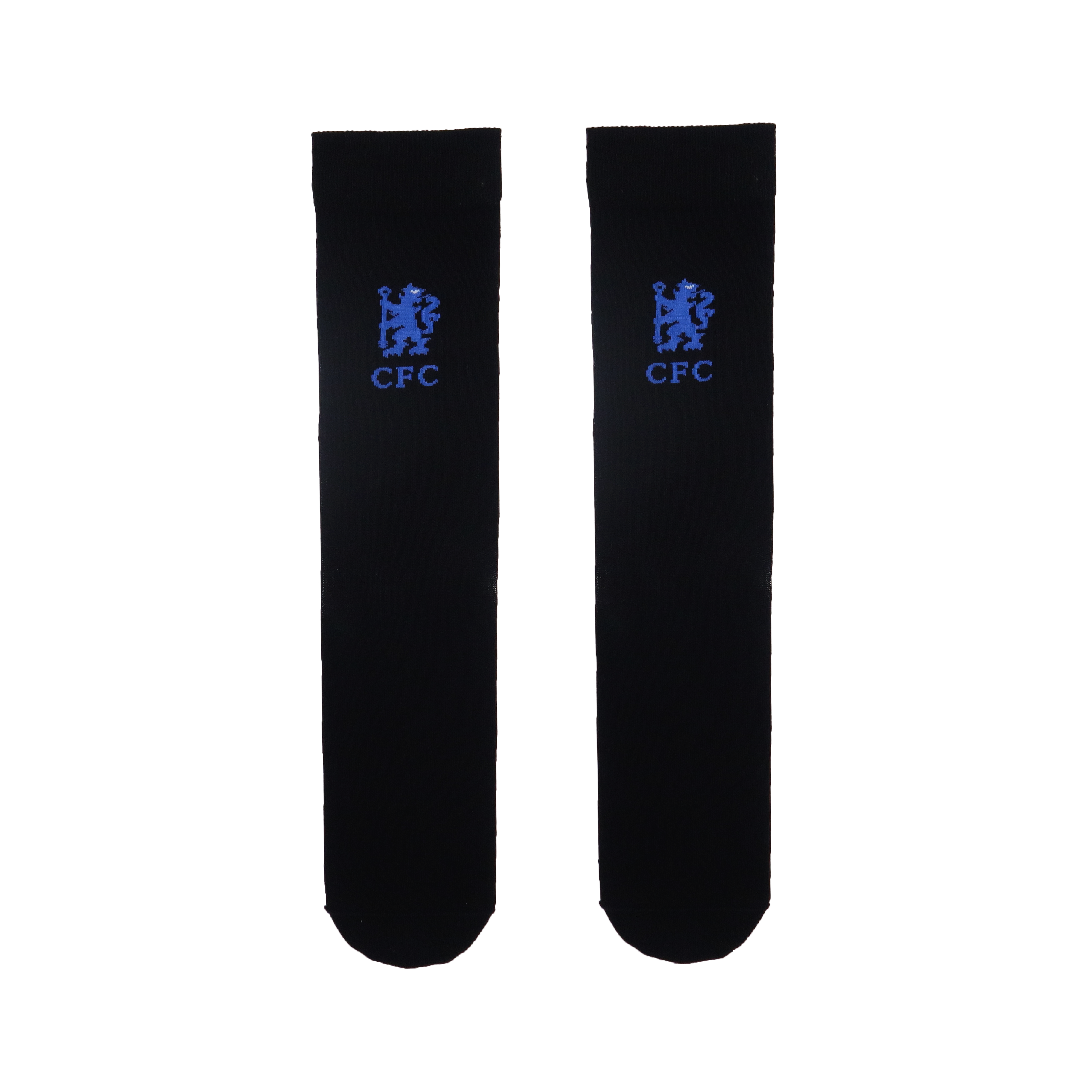 Chelsea FC Logo Socks In Black