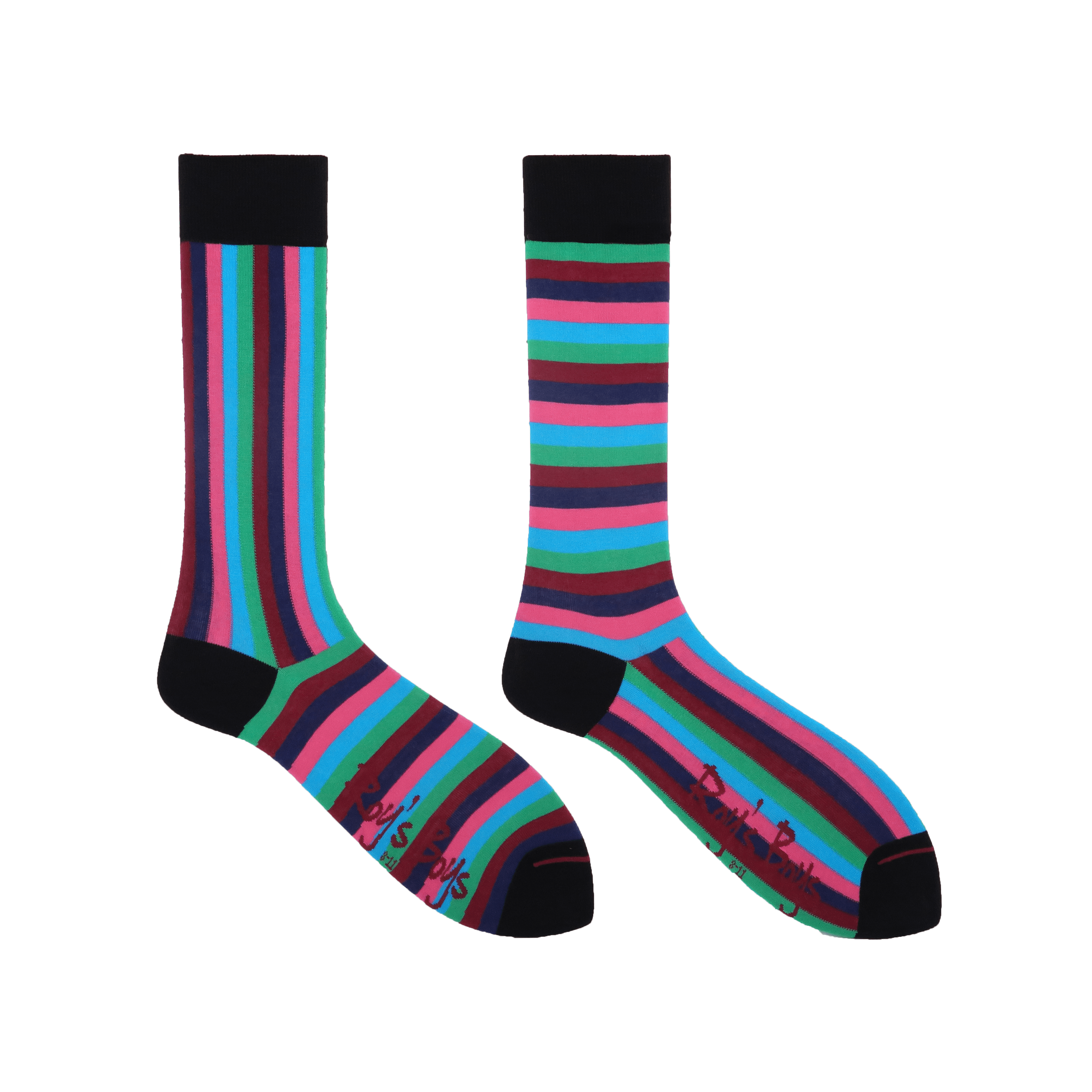 Glastonbury Stripe Premium Odd Socks