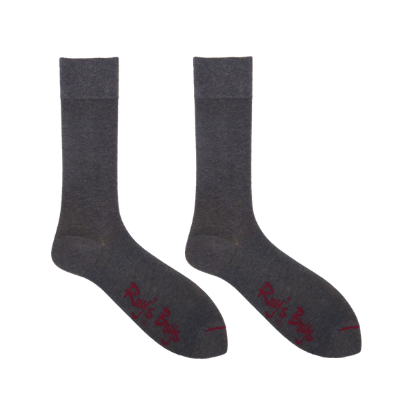 Light Grey Marl Luxury Cashmere Blend Socks