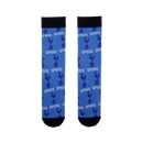 Tottenham Hotspur All Over Print Logo Sock In Blue