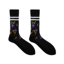 Spyro the Dragon Black Sports Socks