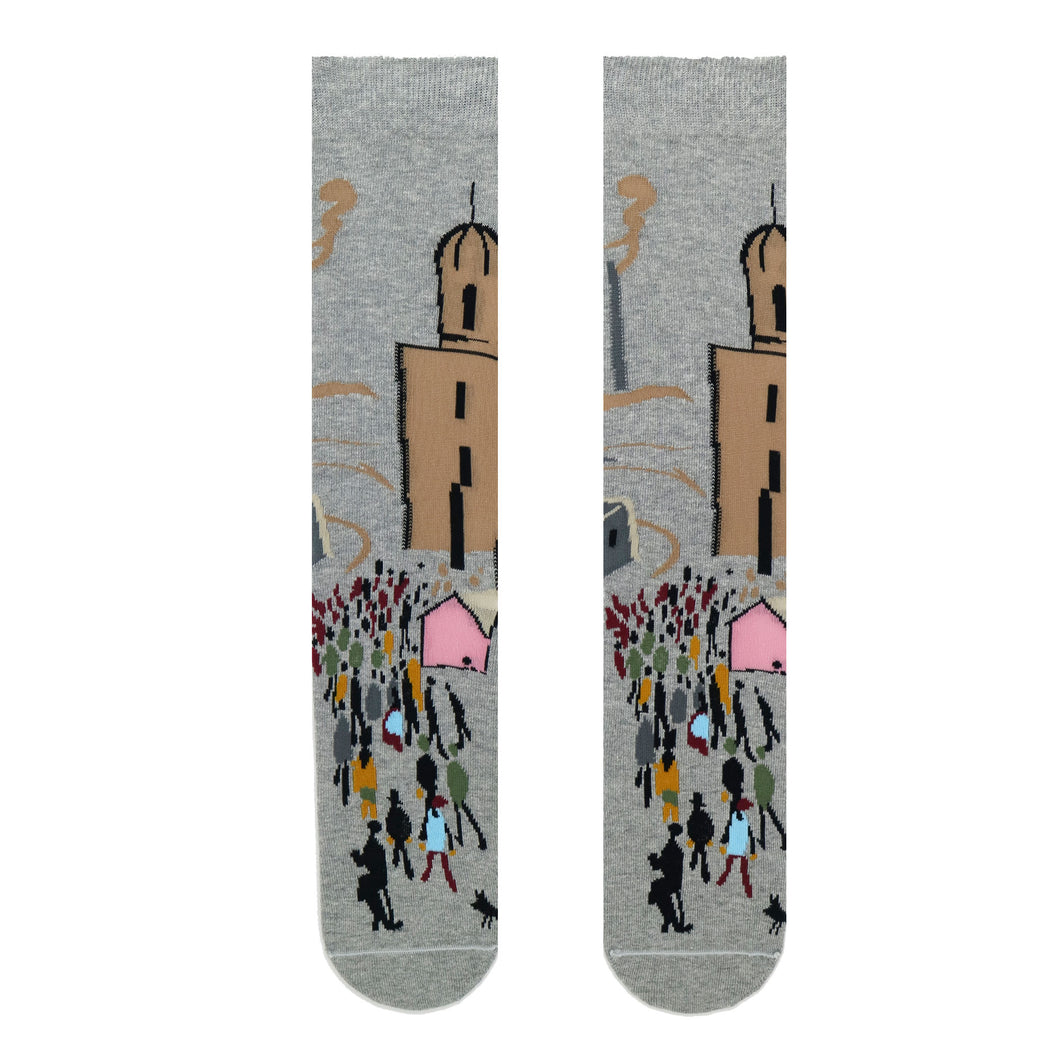 Lowry - Going to Work Adult Socks