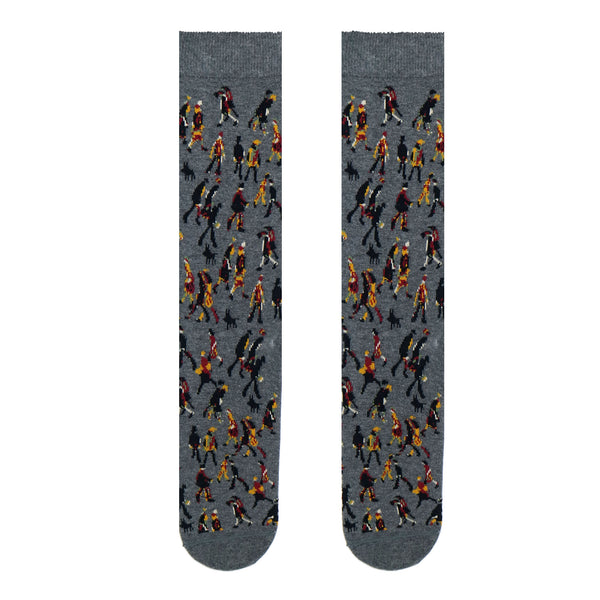 Lowry - Repeat Pattern Adult Socks