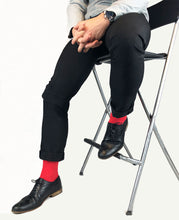 Cashmere Red Socks