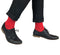 Red Luxury Cashmere Blend Socks
