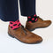 Pink and Navy Odd Socks