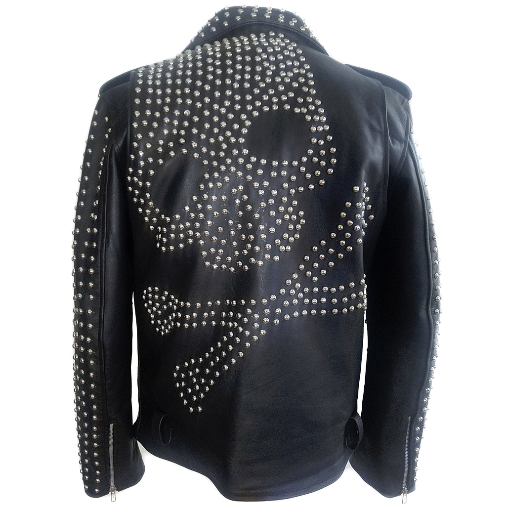 Skull Game Studded Jacket