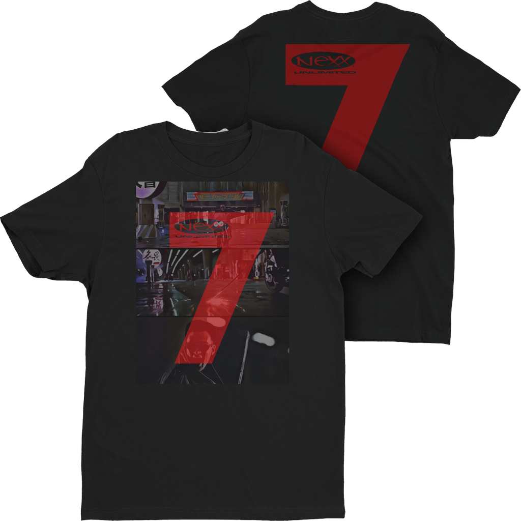 Short Sleeve T-shirt - Black Rain 7 NEXX2