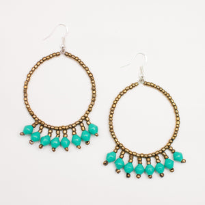 ZAMBEZI HOOP - EARRINGS