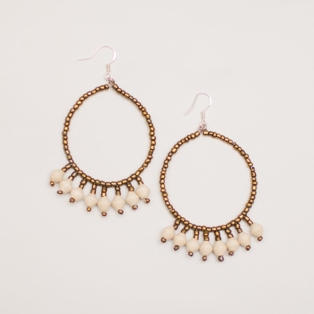 MPADUE HOOPS - EARRINGS