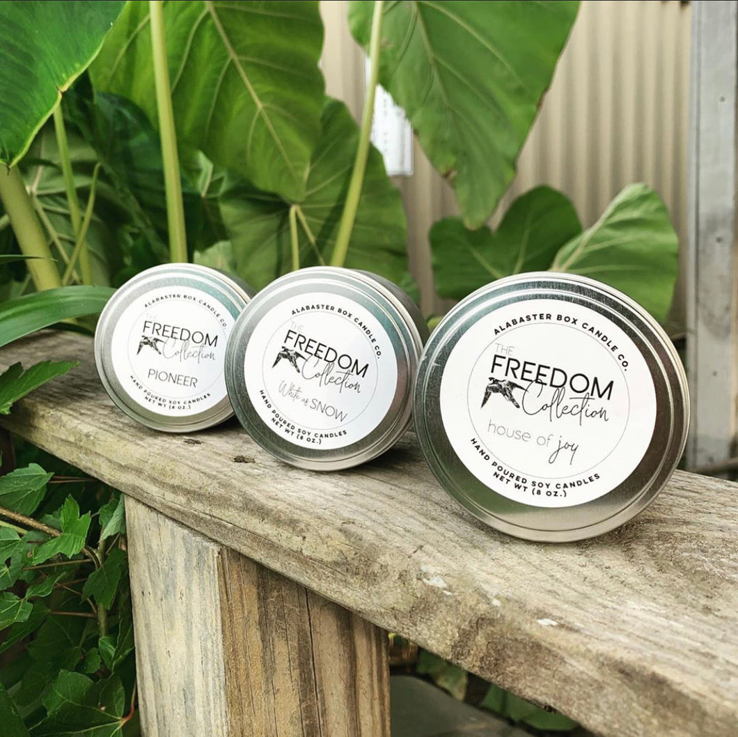 THE FREEDOM COLLECTION - CANDLES