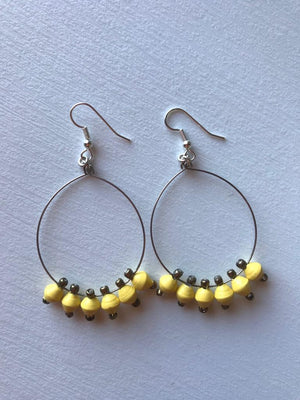 Open image in slideshow, RAINDROP EARRINGS