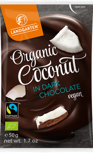 Coconut in Dark Chocolate (special: 40% off - 10 bags!)