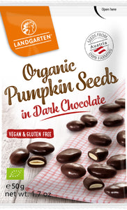 Pumpkin Seeds in Dark Chocolate