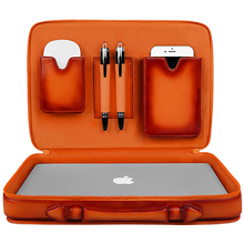 MacBook 12 inch - Briefcase - Hand Colored Leather
