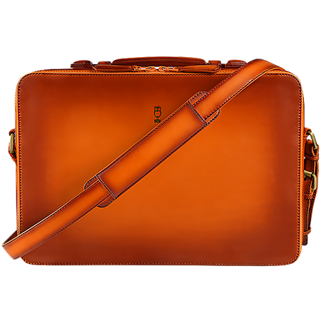 MacBook Pro 15 inch - Briefcase - Hand Colored Leather