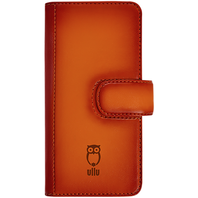 iPhone 5s/SE - Piggyback Case - Hand Colored Leather-ullushop