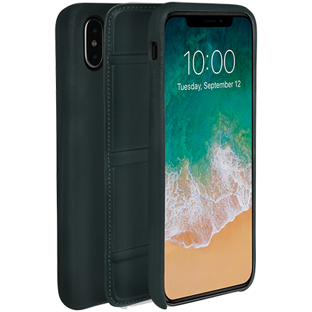 on sale 6881f e7617 iPhone X/Xs - Dual 2 Magneto Case - Hand Colored Leather