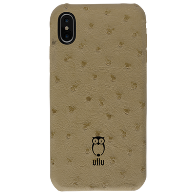 low priced 168c7 9d8a5 iPhone X/Xs - SnapOn Case - Ostrich Leather