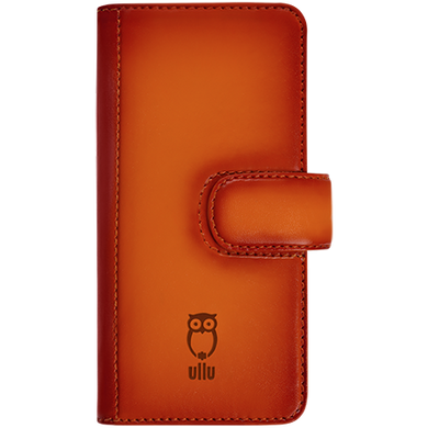 iPhone 6/6s - Piggyback Case - Hand Colored Leather