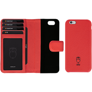 iPhone 6/6s - Piggyback Case - Premium Leather
