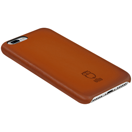 iPhone 7 8 Plus SnapOn Case - Hand Patina Leather Case - ullushop ef99bb8e5