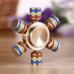 Mini gouvernail Hand Spinner Multicolor - Gadget2Geek
