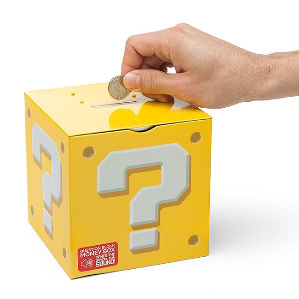 Tirelire Question Block Super Mario (Nintendo) - Gadget2Geek