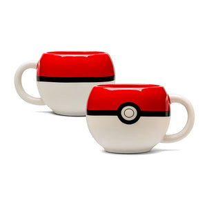 Pokemon - Mug pokeball en 3D